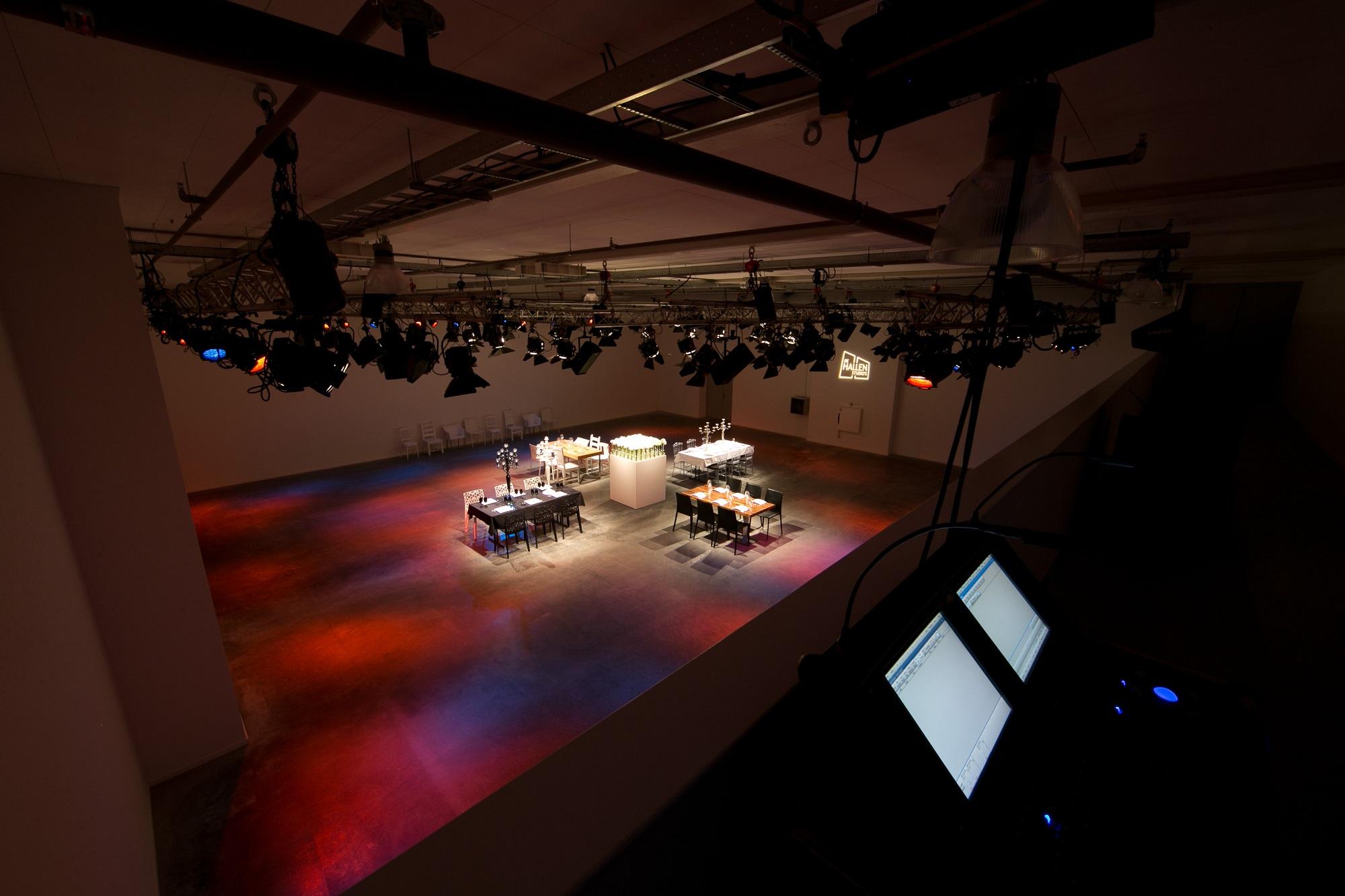 Hallen Studio 1 -3