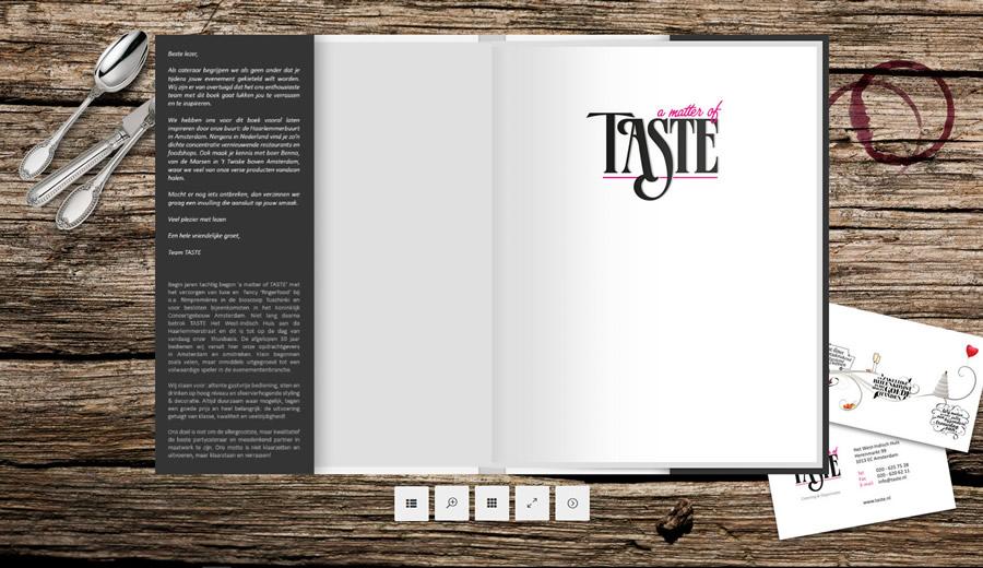 Bekijk ons proefboek
