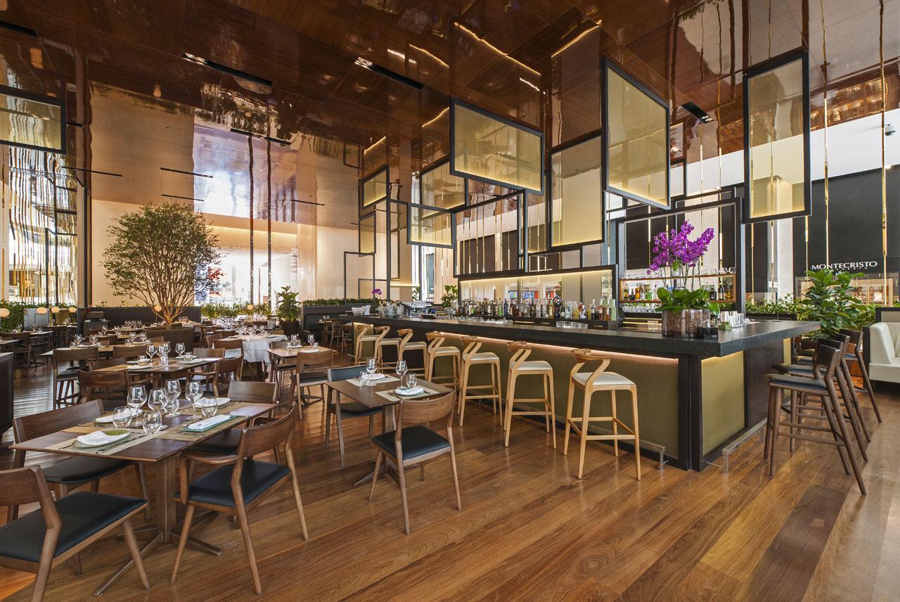 #91683A23657168 Prachtig Restaurant Met Cutting Edge Design In Winkelcentrum Sao Paulo  Meest recente Design Meubelen Utrecht Centrum 1901 pic 12808561901 Ontwerp
