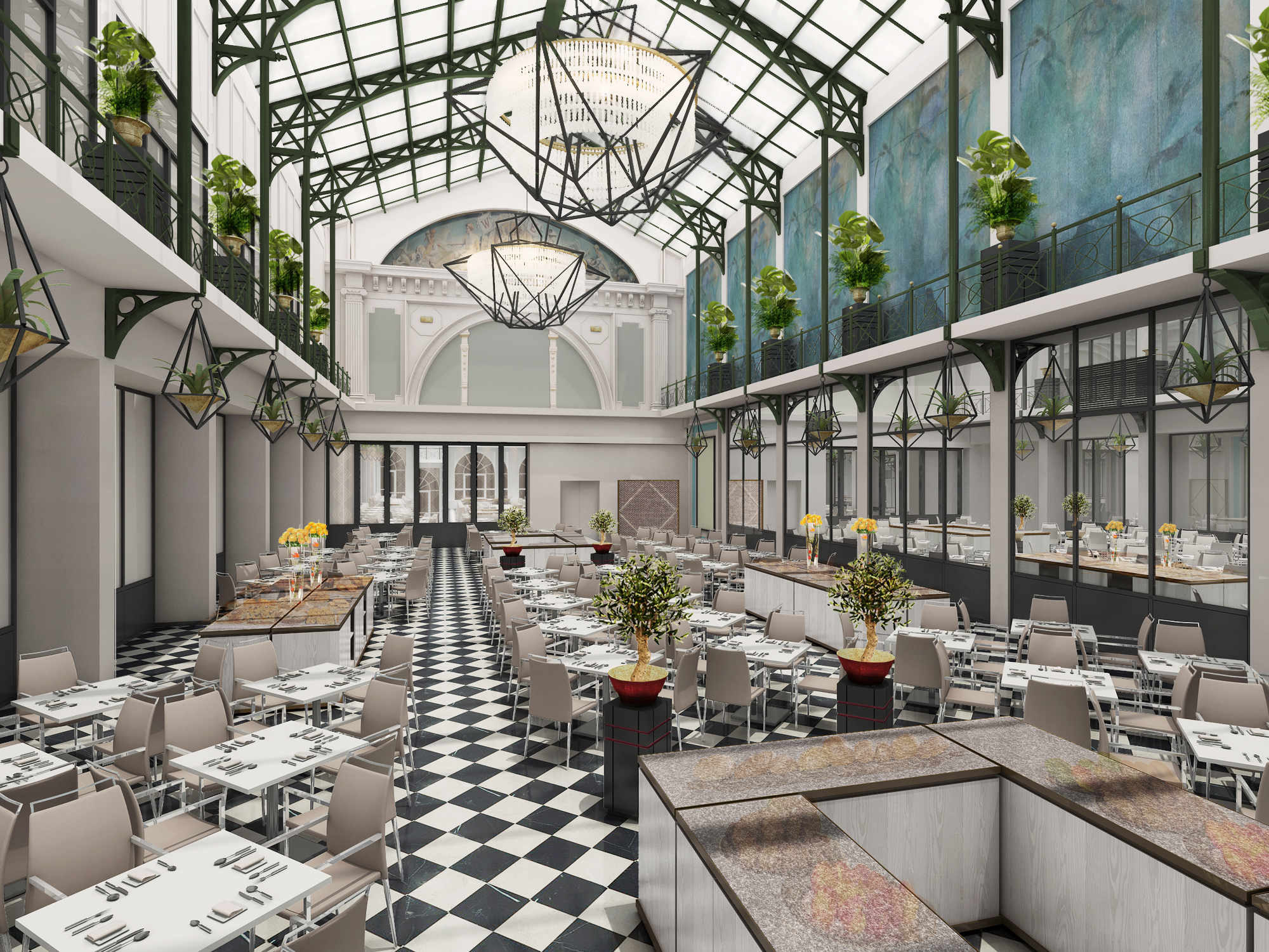 Nh heropent drie iconische hotels in amsterdam for Nh hotel amsterdam