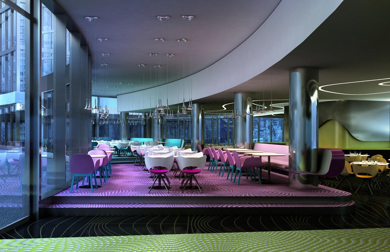 Eerste blik binnen bij congreshotel in ven amsterdam for Loft interieur den haag