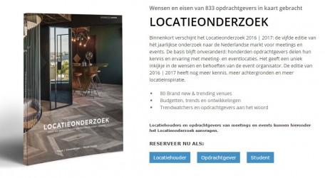 Ontvang als eerste het Locatieonderzoek 2016-2017!