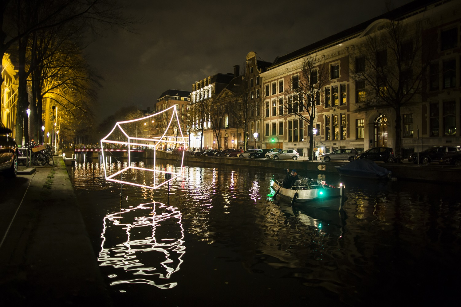 Amsterdam Light Festival 2016 - Welcome to my home (town) - Lighting Design Academy - Copyright Janus van den Eijnden (89)