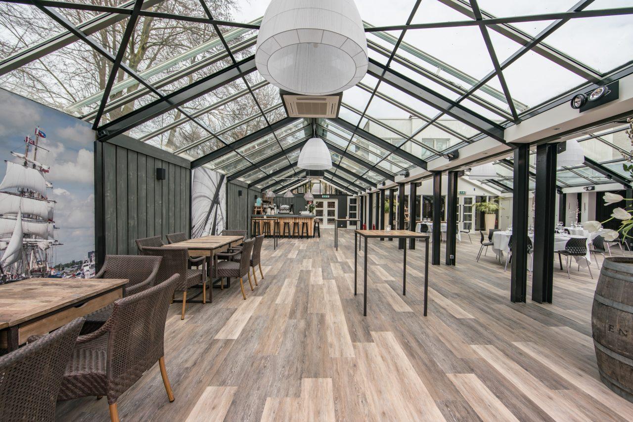 Jaaroverzicht het meest opvallende locatienieuws van 2017 - Eigentijds buitenkant terras ...