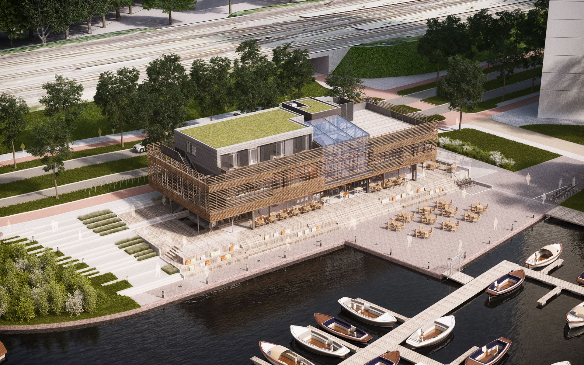 Coming soon: George Marina Amsterdam - GreaterVenues.com George Marina Amsterdam