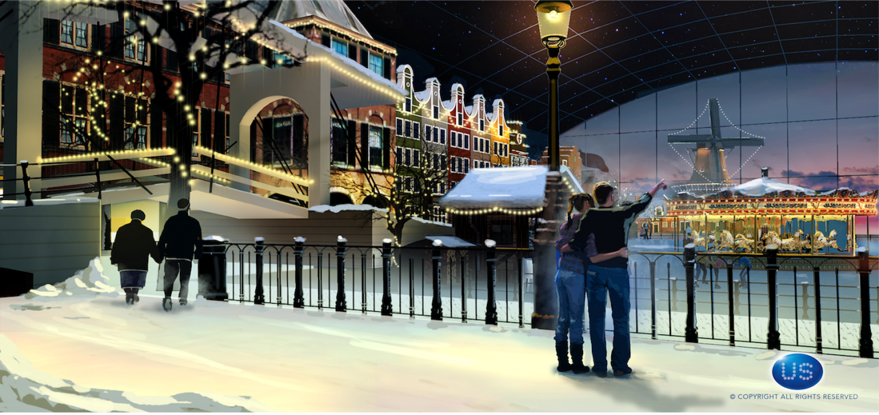 Huge Amusement Park and Event Venue HollandWorld Is Coming ...
