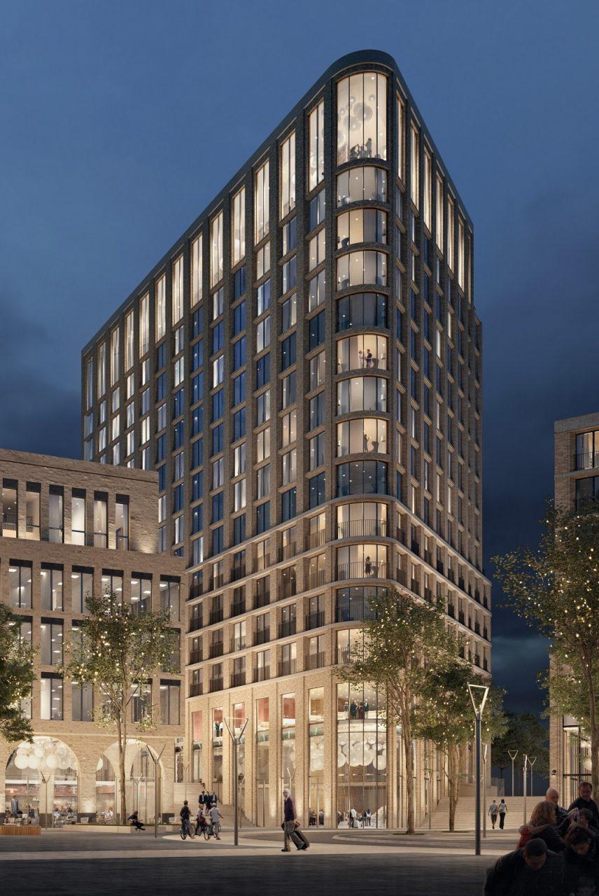Aloft hotel utrecht opent in 2020 in leidsche rijn for Hotel design utrecht