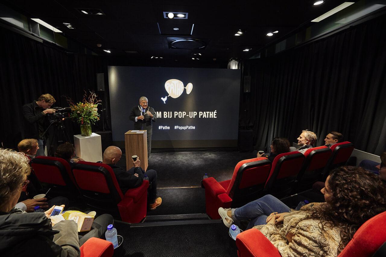 Pathé pop-up bioscoop