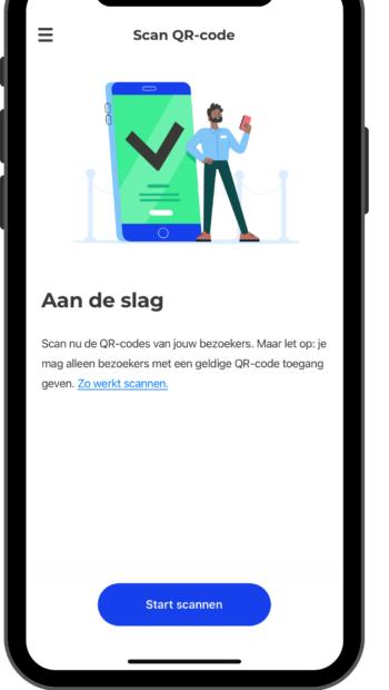 CoronaCheck App Testen voor Toegang